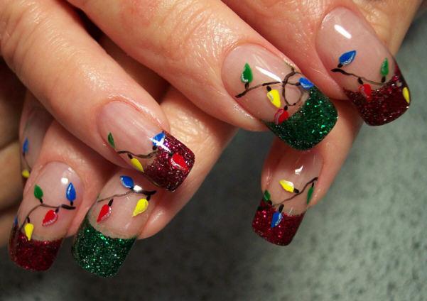 Christmas Nails 30 ลายเพ้นท์เล็บต้อนรับซานต้าในวันคริสต์มาส